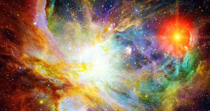 Tranh thêu chữ thập vũ trụ không gian Blxecky