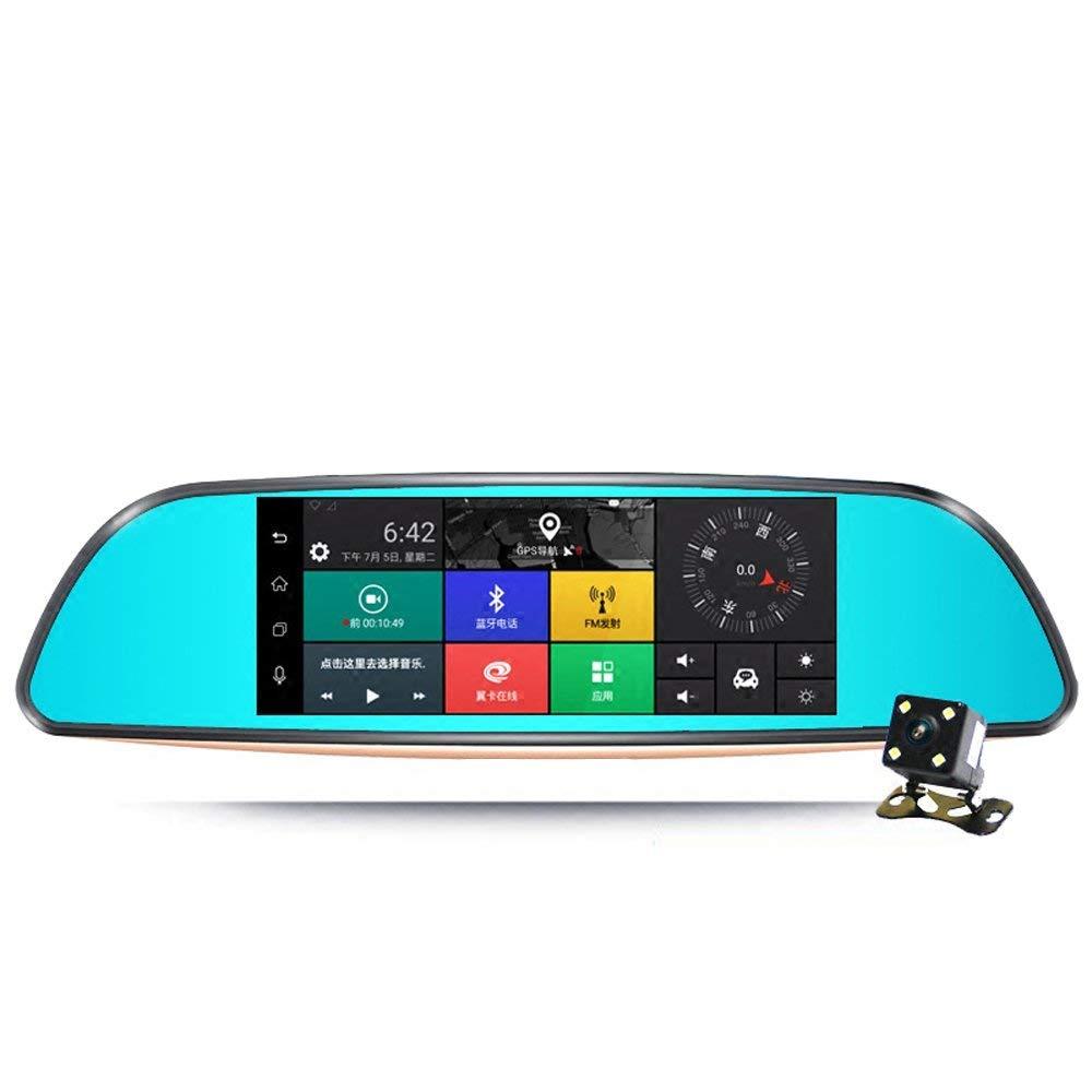 Cá đuối điện dơi chó một cần cẩu máy quay ghi âm đôi màn hình lớn sau khi kính xe cẩu ghi [GPS OnSta