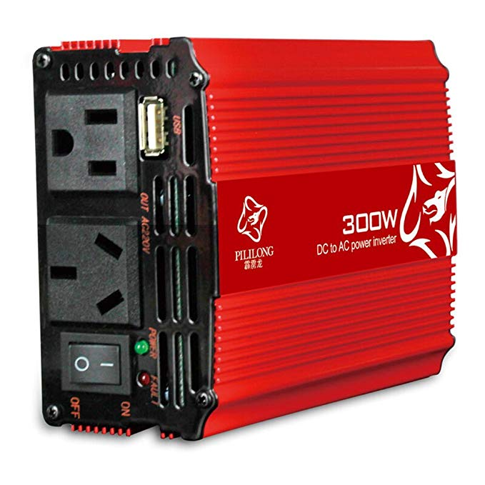 Xe điện thoại di động điện biến tần điện chuyển đổi sạc xe hơi Snapdragon loạt 12v đến 220v-300w