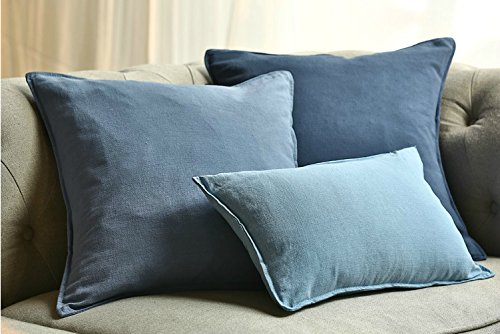 Jiarui màu Tinh Khiết thương mại nước ngoài Mỹ linen cotton linen ngủ trưa văn phòng gối ngủ gối sin
