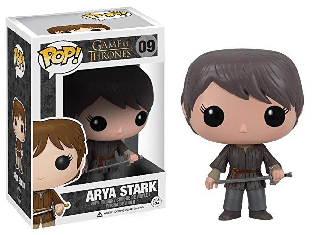 Tượng nhân vật Arya Stark Trò chơi vương quyền Funko