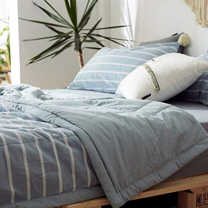 Thoải mái da- bông rửa điều hòa không khí là bông có thể giặt mùa hè mát mẻ quilt siêu mềm duy nhất