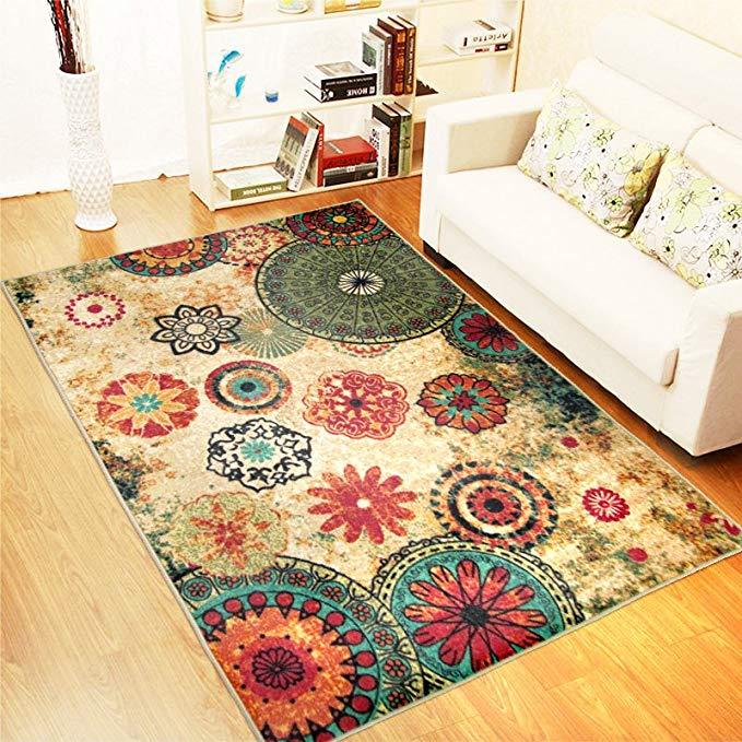 Quạt MSK, thảm, thảm phòng khách, thảm sofa phòng ngủ, lấp lánh đầy sao, 1000 * 1500MM