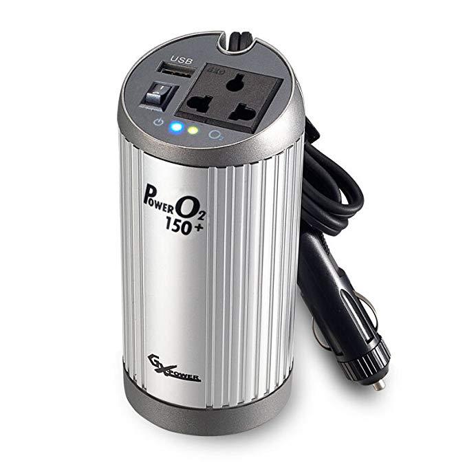 Gao Xin Xe inverter với chức năng thanh lọc 12 V đến 220 V cung cấp điện xe TO-150 đỏ cho thiết bị n