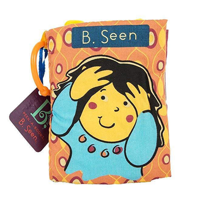 Sách vải giúp trẻ nhận biết, học tập qua hình ảnh B.Toys