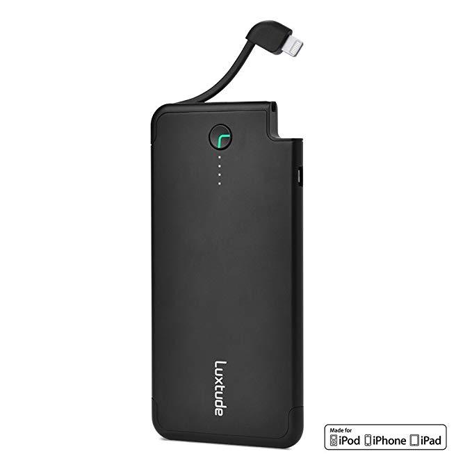 Lutway (Luxtude) ET50 Elite 50 polymer điện thoại di động / sạc kho báu đi kèm với Apple Lightning d