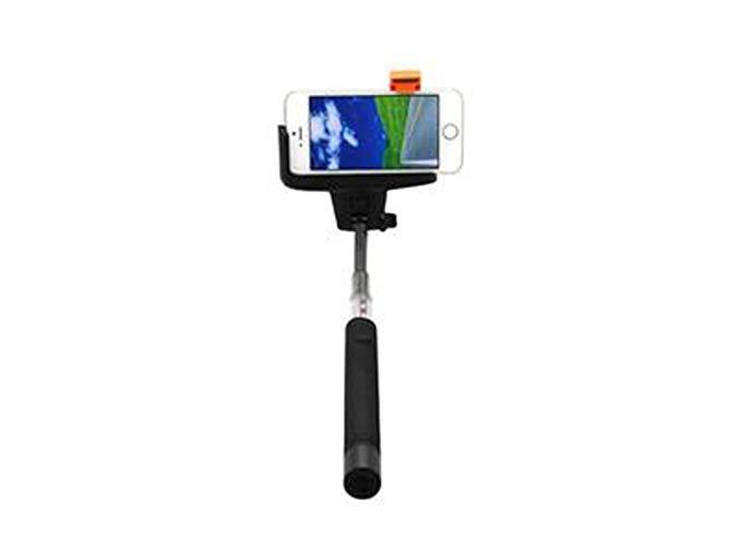 Hi Disc điện thoại di động selfie stick monopod được xây dựng trong Bluetooth điều khiển từ xa đen M