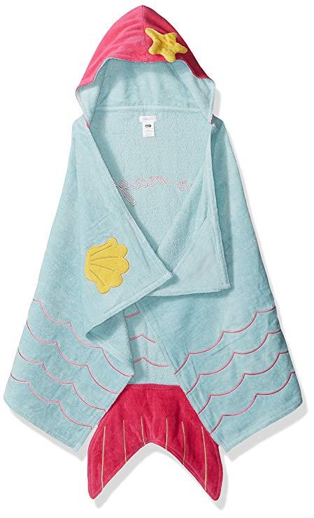 Bùn Pie Baby Girl trùm đầu khăn tắm