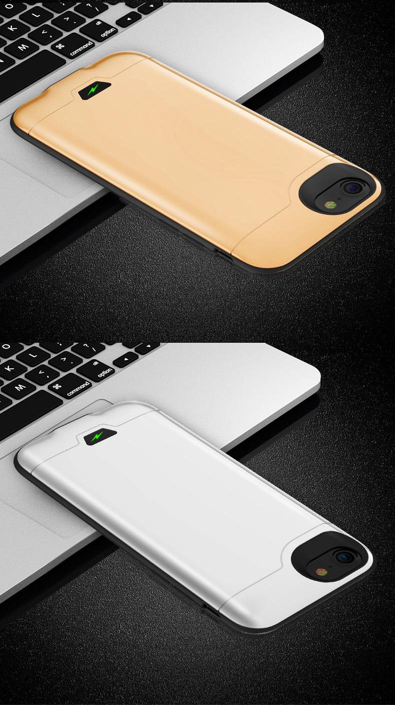 Áp dụng iphone6 lưng không có hàm kẹp áp dụng Apple sạc bảo 7S 8P General chuyển điện không dây.