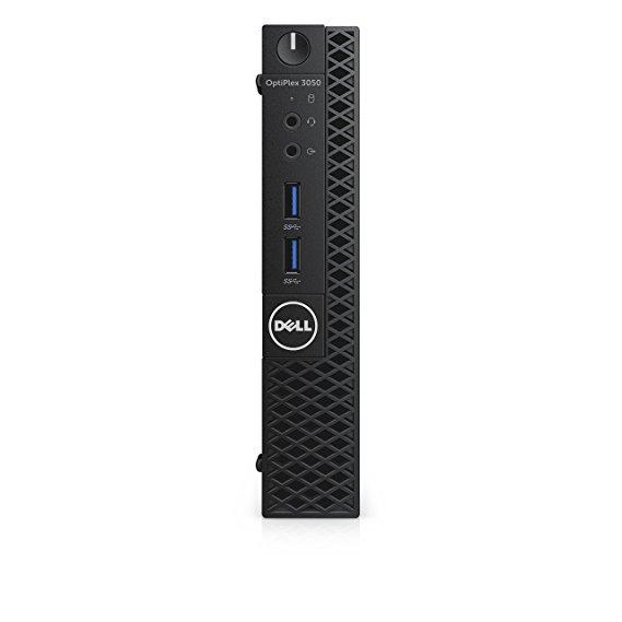 DELL p24vv OptiPlex 3050 Máy tính để bàn yếu tố dạng vi, Intel Core I5 - 7500t, ổ cứng 8 GB DDR 4,50