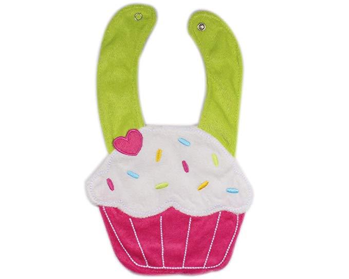Bonamart ® ba-d trẻ em little girl boy toddler bib dễ thương phim hoạt hình bánh mềm nước bọt khăn