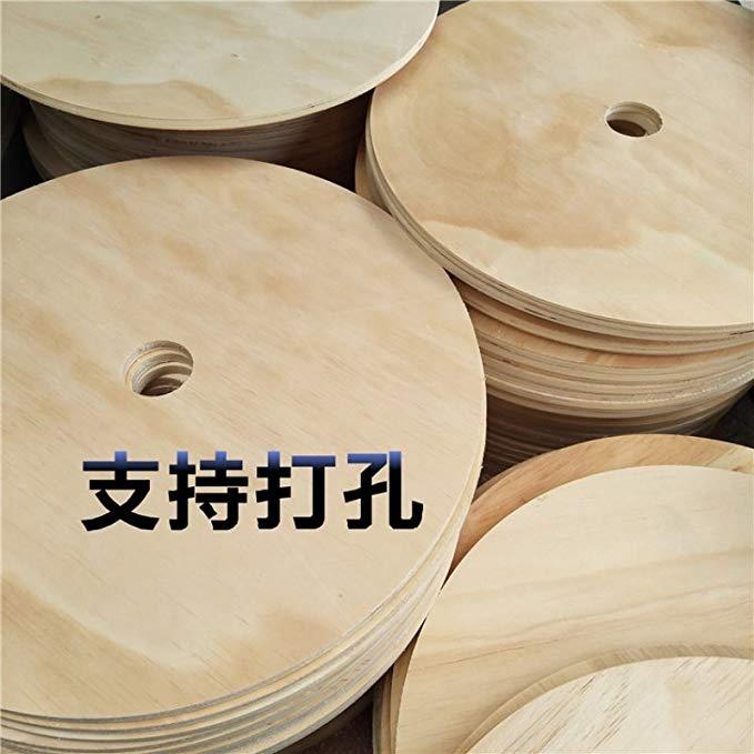 Tự làm nguyên liệu handmade vòng tấm gỗ ván gỗ vòng mô hình vật liệu mỏng bảng gỗ đạo cụ chụp ảnh vẽ