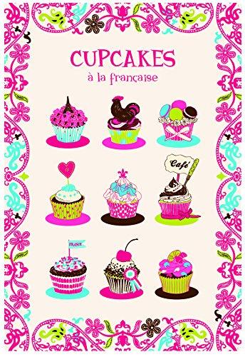 Torchons & bouchons - cupcakes Một khăn bếp LA francaise - tb3051091000