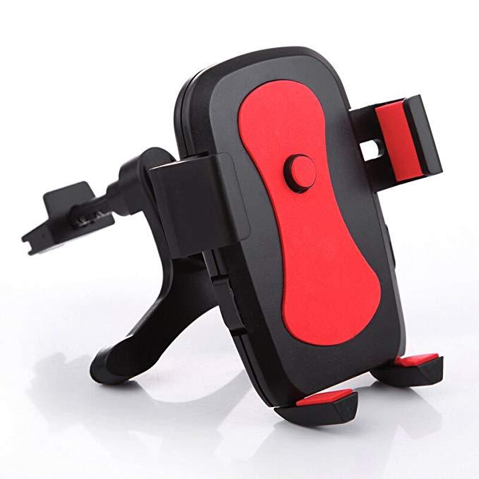 Osley người giữ điện thoại xe phổ điện thoại di động chủ xe navigation bracket 360 bằng xe outlet đi