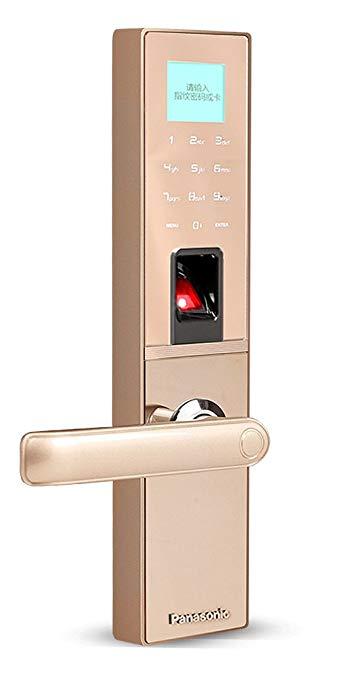 Panasonic Panasonic Smart Khóa điện tử 4 trong 1 [Mật khẩu bit ảo + Vân tay + Thẻ IC + Phím cơ khí]