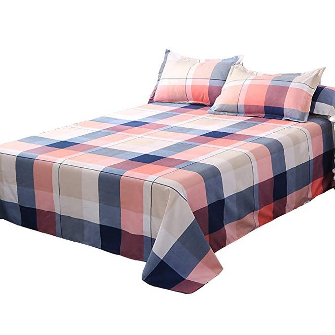Dệt may tại nhà vào buổi sáng, khăn trải giường in, khăn trải giường thoải mái, khăn trải giường đơn