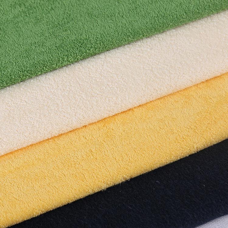 Tại chỗ bán buôn Cotton đơn mặt nhung khăn nước bọt khăn vải Thoải Mái mềm vải dệt kim Flannel quần