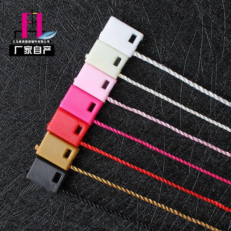 Tag in ấn treo quần áo treo hạt nhựa chung đầu treo hạt sub-nữ khóa dòng thương hiệu tại chỗ