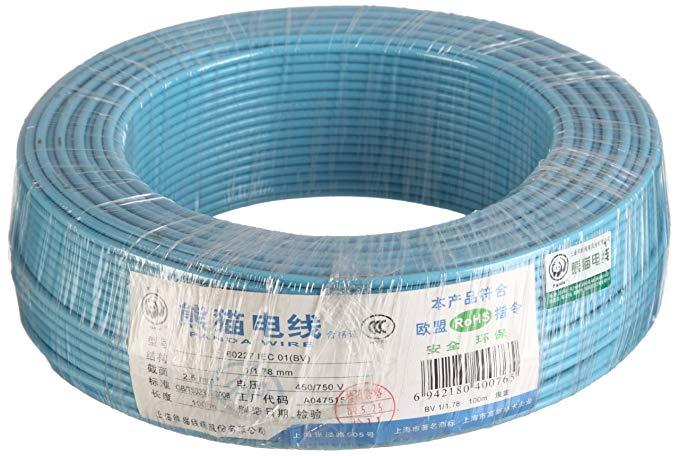 PANDA WIRE Panda Wire Mục đích chung Dây lõi đơn cứng Dây đồng chưa được bọc cáp 2.5 Chiều rộng 100