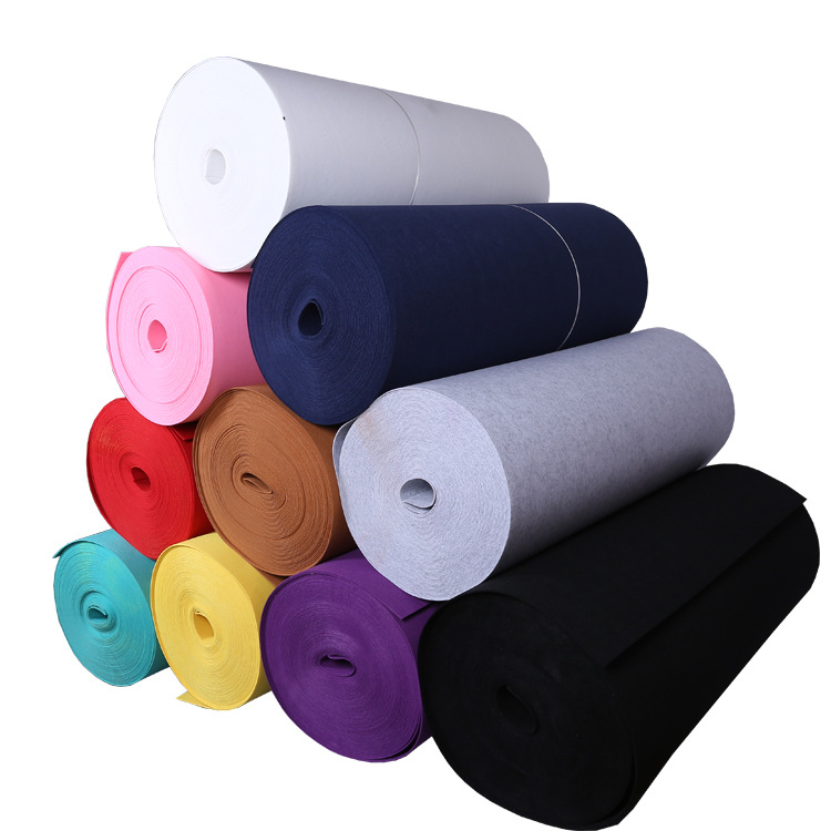 Màu sắc không dệt vải, không dệt vải, cảm thấy sợi hóa học không dệt vải, đa chức năng không dệt vải