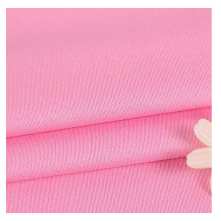 Tại chỗ bán buôn nhiều màu 75D hai mặt polyester vải dệt kim Nhuộm vải tốt T-Shirt đồ thể thao đồ ng