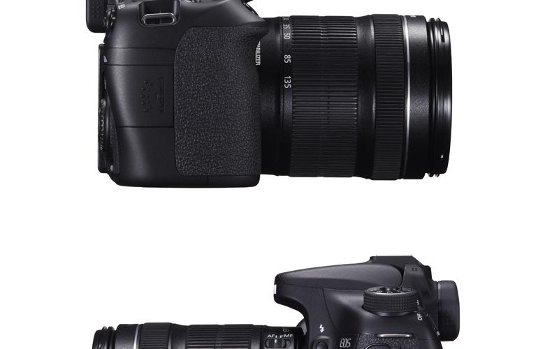 Canon Canon EOS 70D máy ảnh kỹ thuật số EF-S 18-135mm mới ráp xong được rồi...