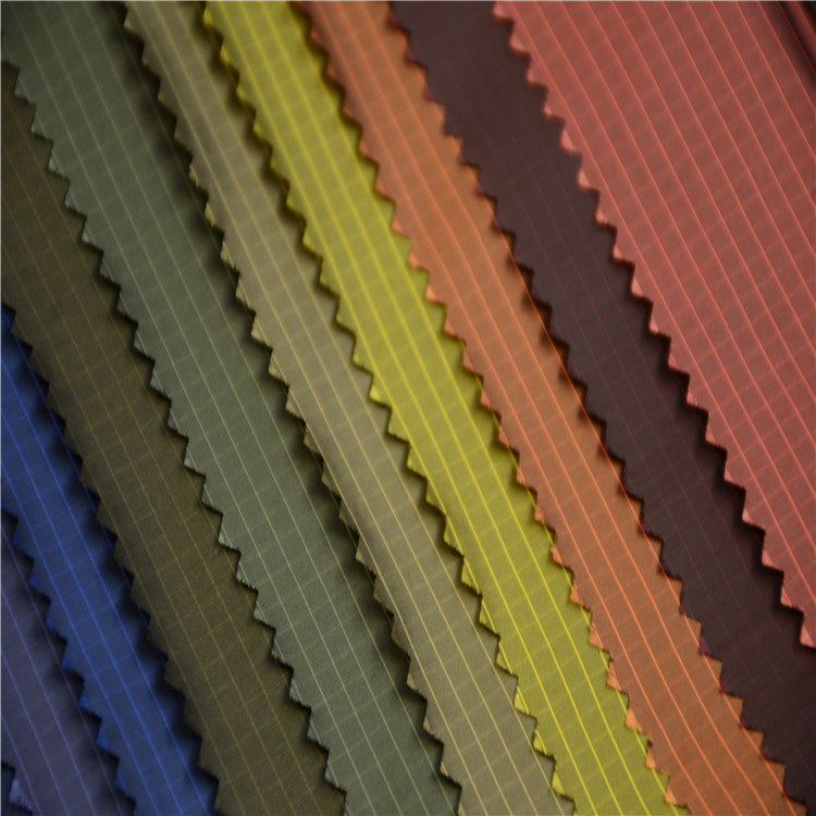 Kẻ sọc đơn sắc nylon Sydney quay nylon polyester vải mà không cần túi mật chống nhung lịch pha trộn