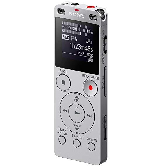 Sony Sony ICD-UX560F Ghi âm kỹ thuật số Ngôn ngữ kinh doanh Helper 4GB Dung lượng bạc