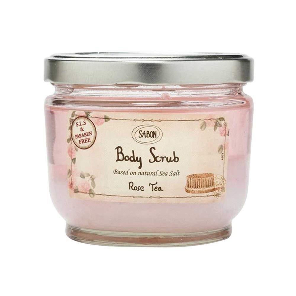 SABON xác chết với muối xức dầu cho Rose Tea hồng trà 600g (Israel Brand)