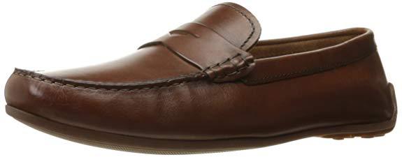 Giày lười nam chất liệu da CLARKS
