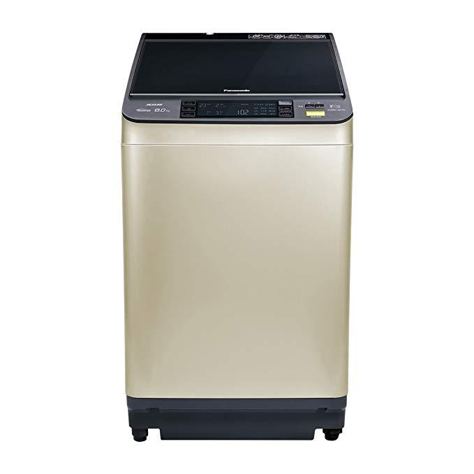Máy giặt biến tần công suất cao tự động Panasonic Panasonic 8kg XQB80-X8156 (vàng champagne)
