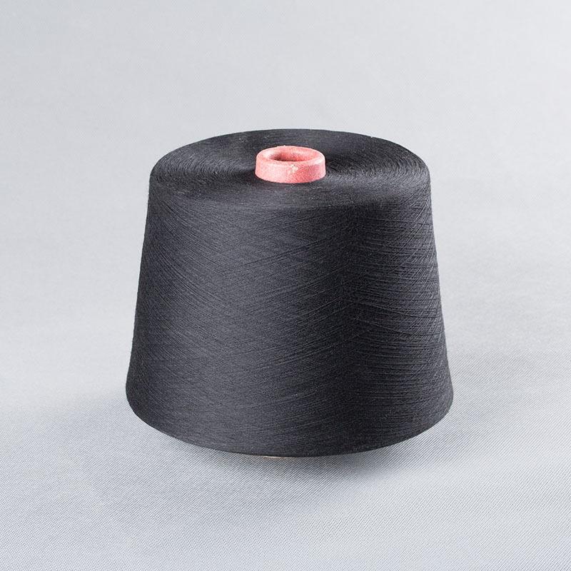 Nhà máy trực tiếp Shang Shande bông sợi gai dầu sợi màu xám 21 sợi bông sợi màu xám polyester dính s