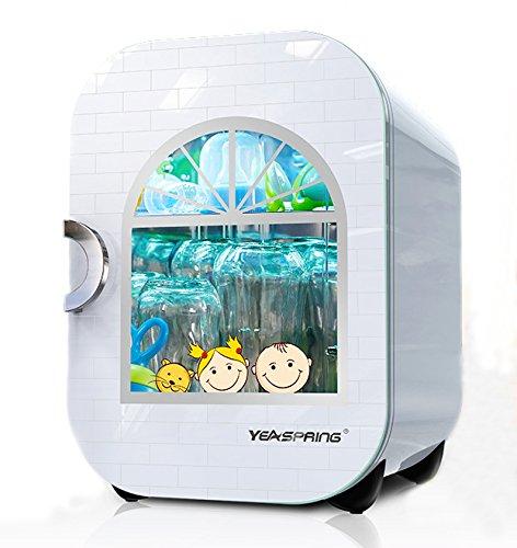 Yeaspring bé chai tiệt trùng với làm khô bé chai khử trùng nồi UV chai tủ khử trùng làm sạch tủ (281