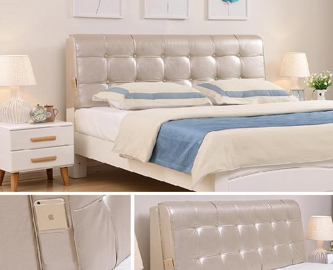 Bên cạnh giường mềm hạ, thu, Đông... Rồi cô gái gối đầu giường bằng hình chữ nhật màu hồng trong thá