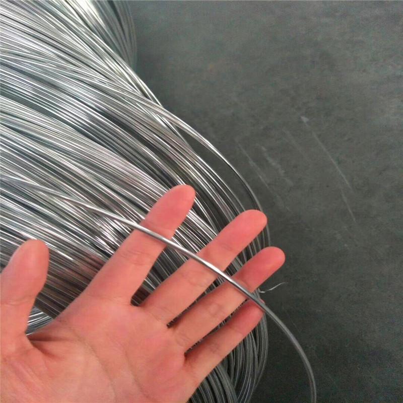 12 q195 mạ kẽm dây kim loại lạnh rút ra dây buộc dây khóa dây nhà sản xuất
