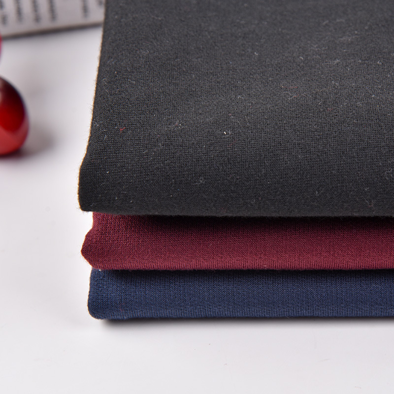 Nhà máy trực tiếp đan nhuộm nhỏ terry vải Polyester cá quy mô vải áo len thể thao vải Nhiều Màu cung