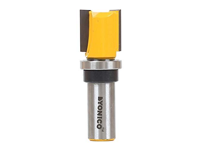 Yonico 14131 mẫu trim cắt phay mẫu với 0,32 cm trục gá, 1,9 x 1,9 cm