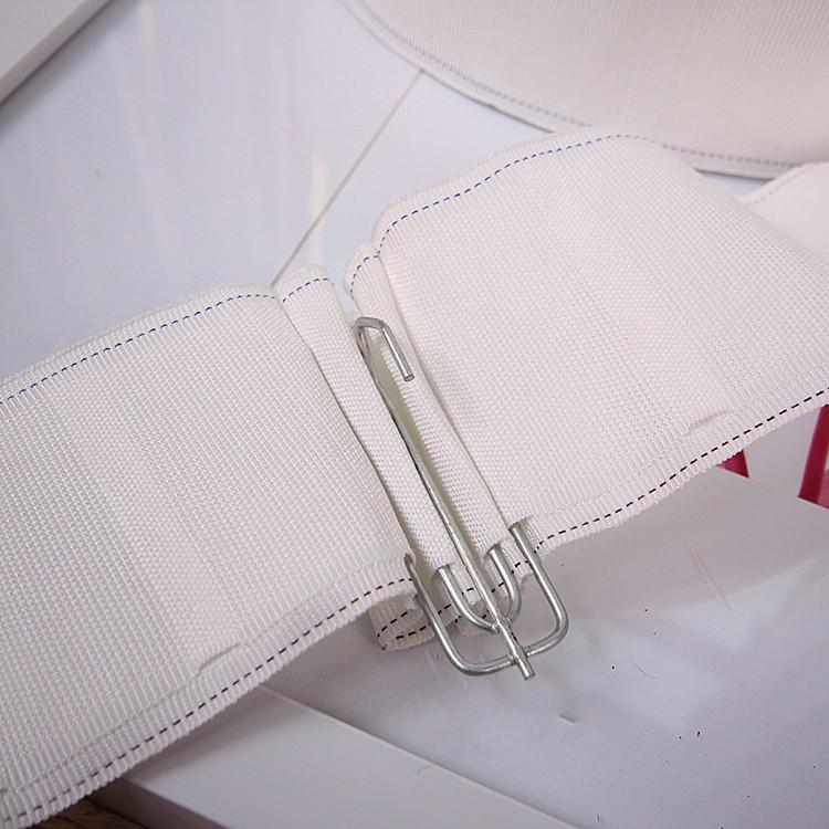 Rèm móc vải vành đai vải Trắng với mã hóa dày Mã Hóa rèm cửa với phụ kiện phụ kiện nhà máy bán hàng
