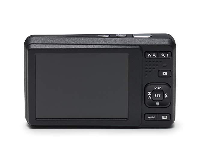 Kodak Kodak FZ 53 Máy ảnh kỹ thuật số đen (16.15 megapixel 2.7 inch màn hình 5 zoom quang học 28mm g