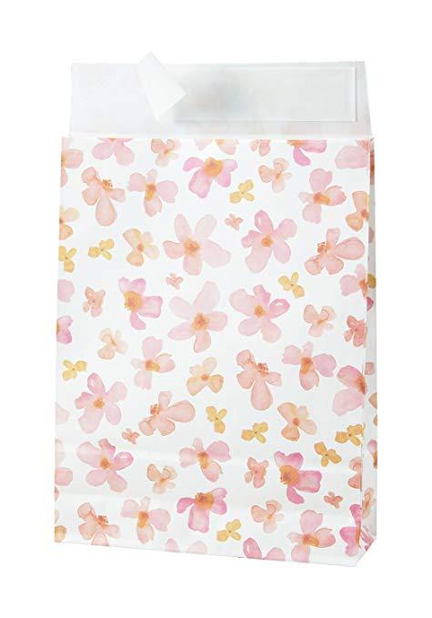 Túi giấy túi túi da màu xanh thể hiện
