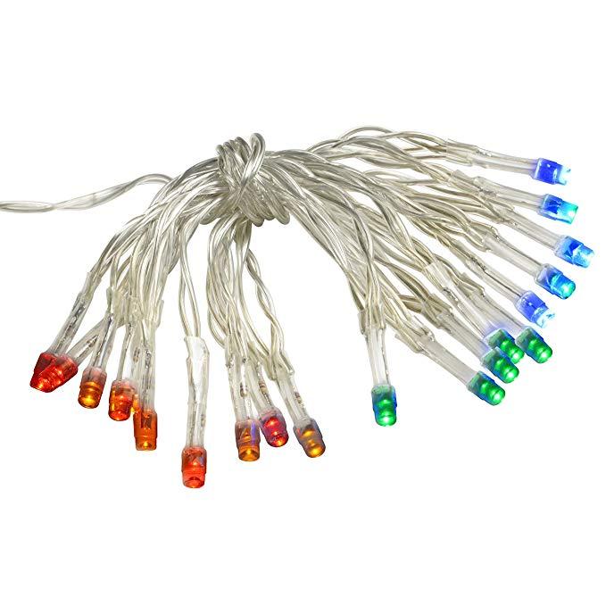 Chuỗi đèn LED chạy bằng pin Werchristmas, 20 mảnh