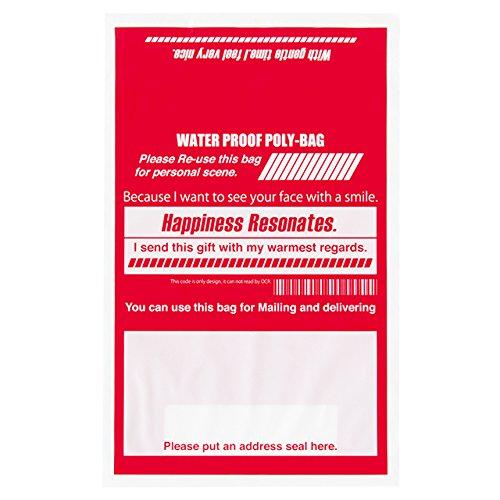Dán nhãn bằng túi chuyển phát nhanh màu đỏ - Kích cỡ thư SS (50 miếng) POS - TB5