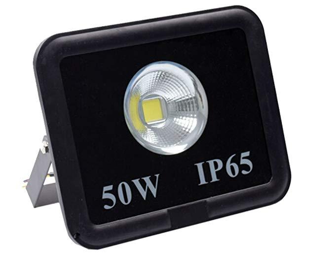 Laggousi LED 50W đèn sân khấu trắng 6000K 60 độ góc của ánh sáng chiếu quảng cáo đăng đèn pha
