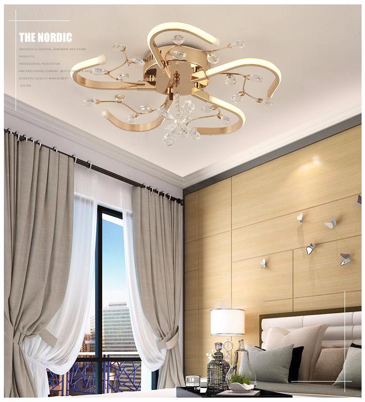 Nhà sản xuất Modern LED đèn hướng dẫn sáng tạo đơn giản. Phòng ngủ phòng hút hút một đèn LED đèn hướ
