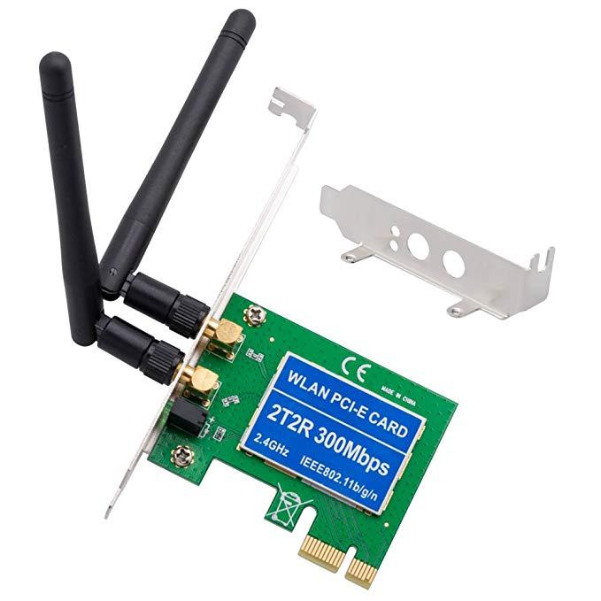 Thẻ mạng không dây Shinestar PCIE Windows 10300 Mbps Card PCI Express PCI Express với khung cấu hình