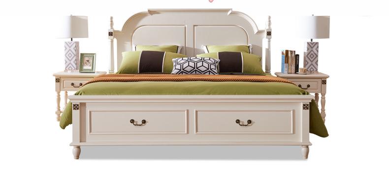 Nội Thất Phòng Ngủ : giường ngủ gỗ nguyên khối kiểu đơn giản và hiện đại .