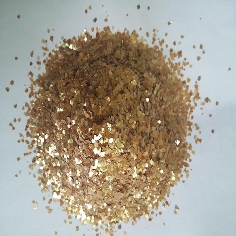 Vàng miếng vàng cực mỏng tự nhiên, mảnh đá đen Quanta chất lượng khoáng sản được đảm bảo