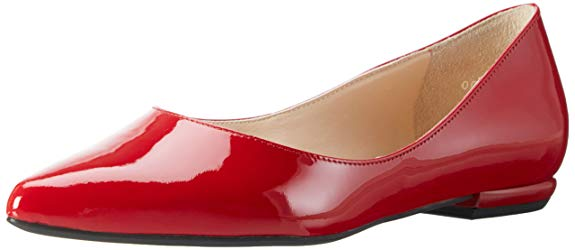 Giày múa ballet nữ đỏ rượu vang HÖGL