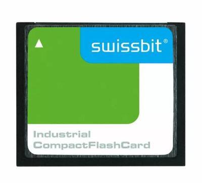 Swissbit thẻ lưu trữ 4GB SFCF4096H1BO2TO-I-D1-543-SMA