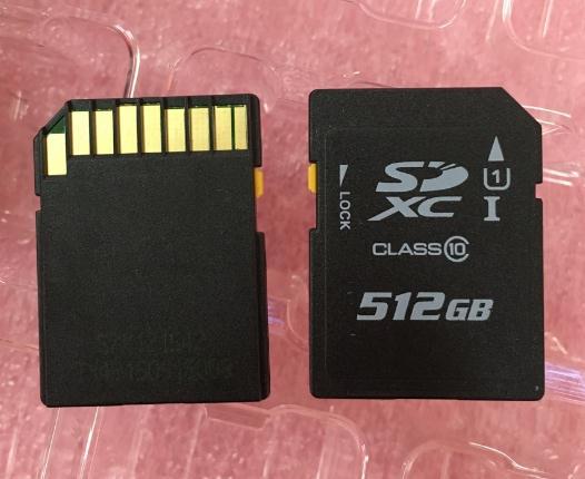 SD512GB camera tốc độ cao hỗ trợ thẻ thẻ 4K video ghi lại hình ảnh